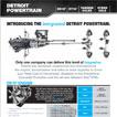 Detroit Integrated Powertrain Spec Sheet